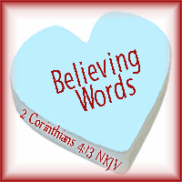 Believing Words Conversation Heart