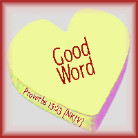 Good Word--Proverbs 15:23