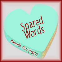 Spared Words--Proverbs 17:27