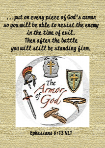 Armor of God--Ephesians 6:13