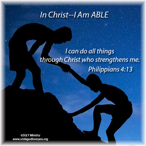 In Christ I Am Able-Philippians 4-13