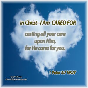 Cared For--1 Peter 5:7