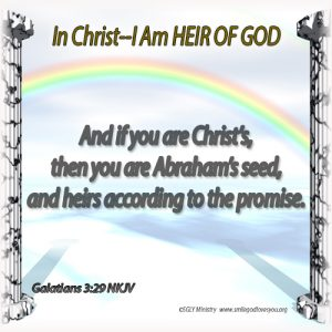 HEIR OF GOD-Galatians 3:29