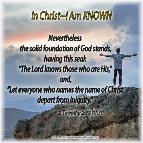 KNOWN--2Timothy 2:19