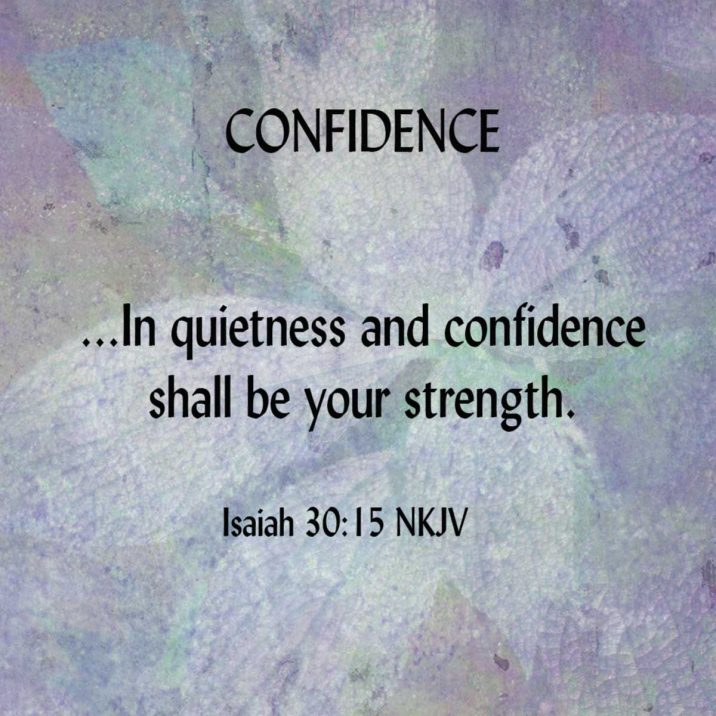 CONFIDENCE-Isaiah30.15