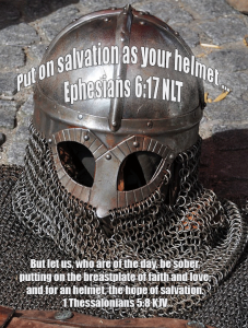 Ephesians 6:17--Helmet of Salvation
