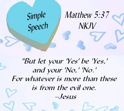 SIMPLE-SPEECH-Matthew-5.37